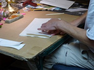 Folding exterior sheets for The Amichai Windows