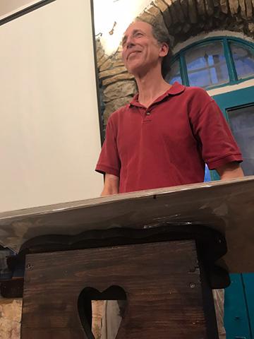 Rick Black at Tmol Shilshom