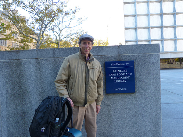 Rick Black coming to the Beinecke