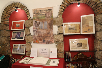Small display of The Amichai Windows