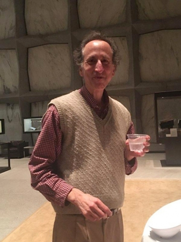 Rick Black after his Beinecke talk