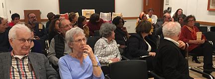 Audience of Beinecke talk