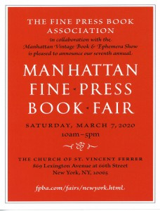 NY Fine Book Fair
